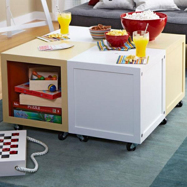 aufbewahrung kinderzimmer - praktische designideen, Hause deko