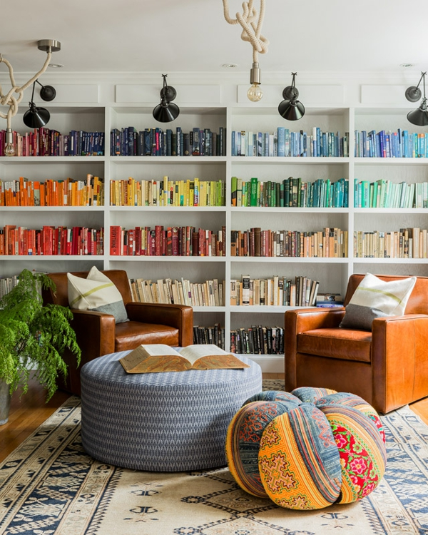 Bücherregale Holz - Inspirierende Ideen Für Eine Tolle Hausbibliothek
