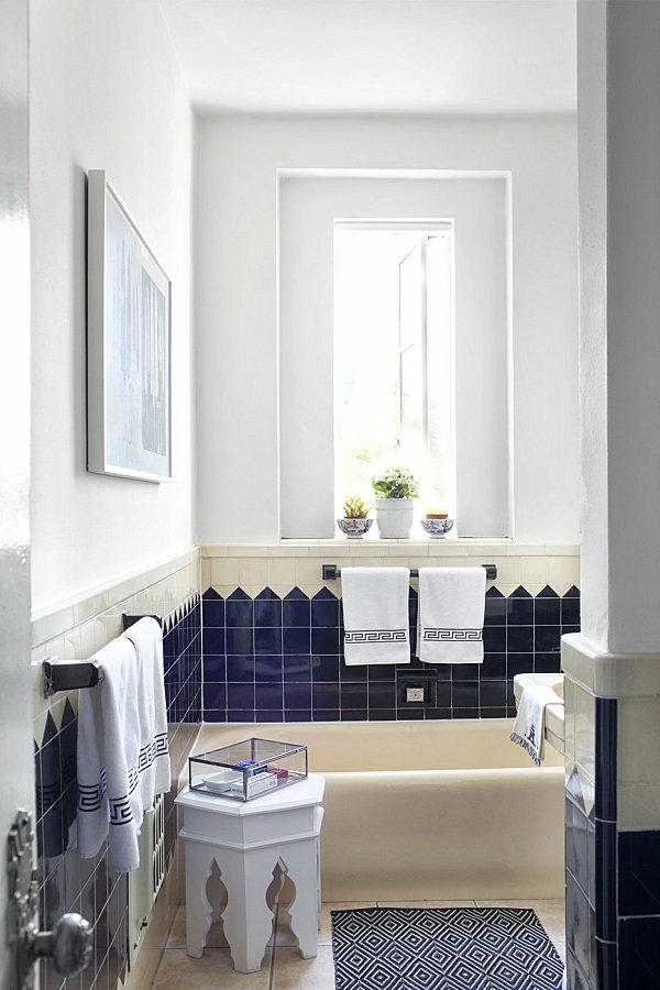 badezimmer im marokkanischen stil zimmerpflanzen