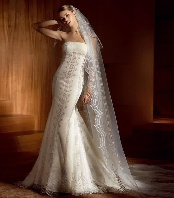 Hochzeitskleider mit Spitze - märchenhafte Hochzeitsfeier