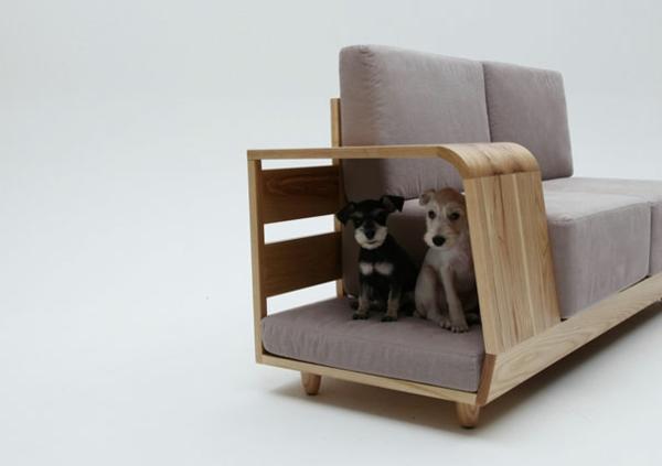 coole Geschenkideen sofa Hunde versteck liegen