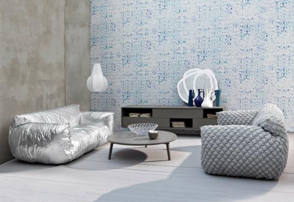 einrichtungsideen wohnzimmer sofas tisch