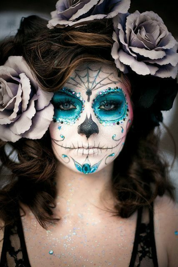 halloween verkleidung damen make up