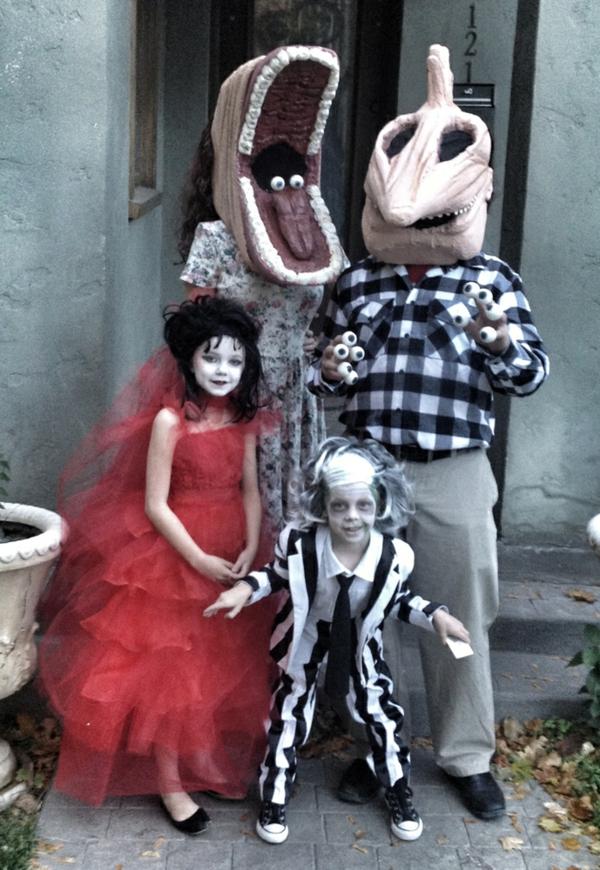 coole halloween verkleidung familien