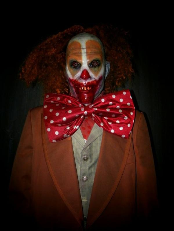 halloween kostüme motive clown horror