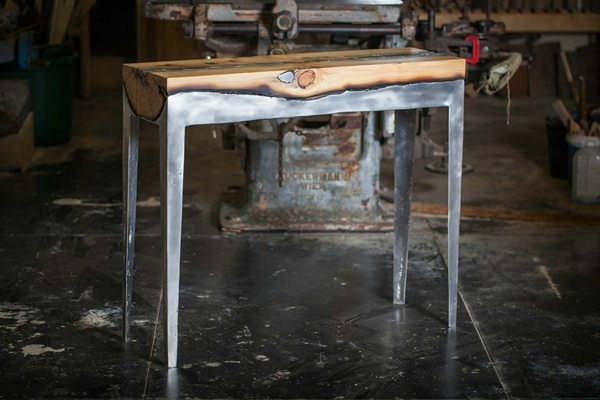 Designermöbel holz tisch  Coole Möbel aus Holz und Metall von Hilla Shamia