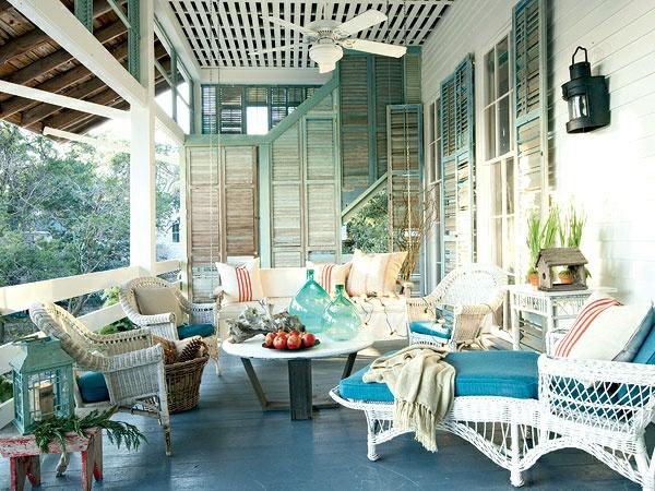 coole terrassengestaltung sichtschutz outdoor möbel