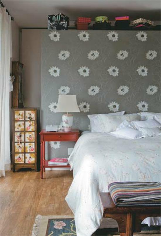 wohnideen schlafzimmer gestalten ~ kreative deko-ideen und ... - Gestalten Schlafzimmer Wohnideen