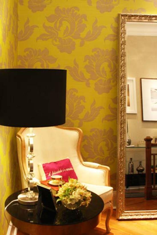 coole wohnideen welche die neugestaltung mit wandtapeten einschlie en. Black Bedroom Furniture Sets. Home Design Ideas