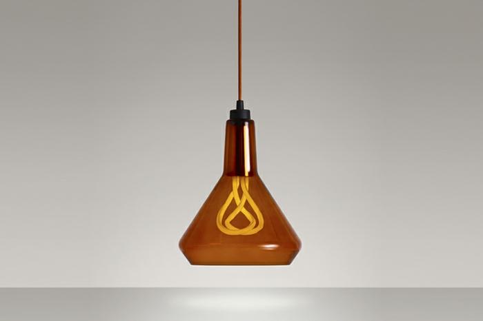 designer leuchten hulger glühbirnen modern pendelleuchten aus glas