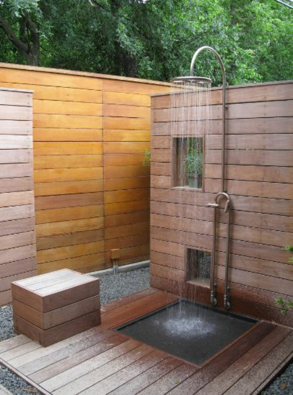 Regenwalddusche Test : Idea Outdoor Shower