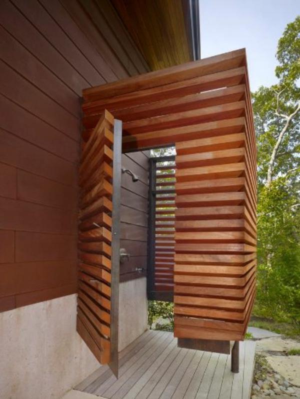 Outdoor Dusche Bauen : Dusche selber bauen ? coole DIY Gartendusche aus Europaletten