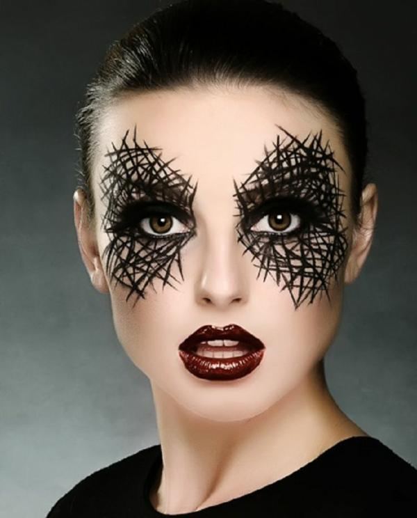 halloween schminktipps frauen stilvoll