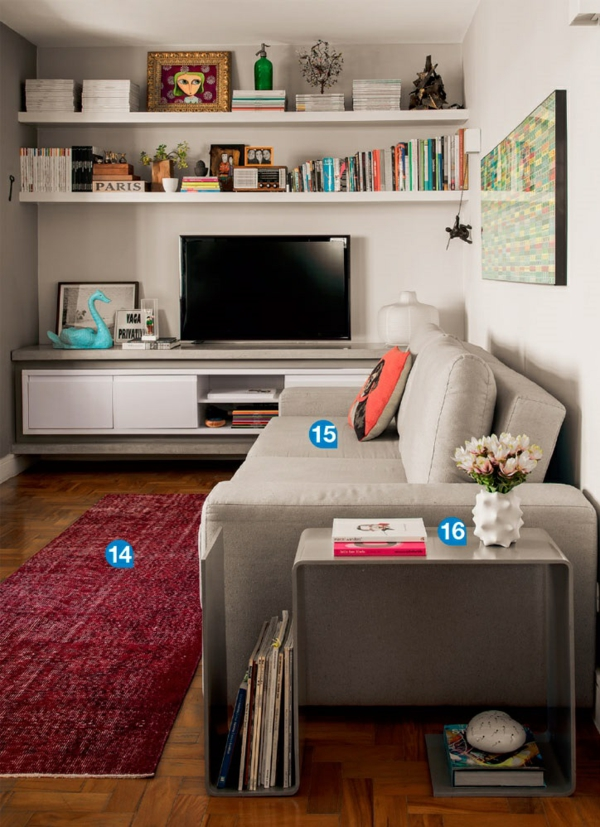 ikea wohnwand gestalten interessante ideen. Black Bedroom Furniture Sets. Home Design Ideas