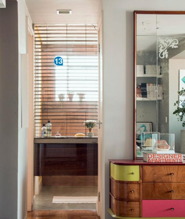 einrichtungsideen wohnideen möbel innendesign ideen wandspiegel kommode storen badezimmer