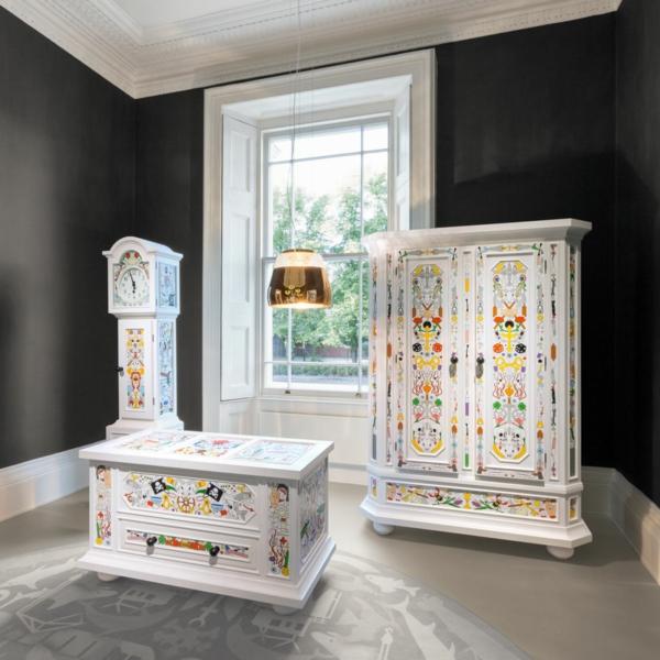 einrichtungsideen wohnzimmer dekorative möbel
