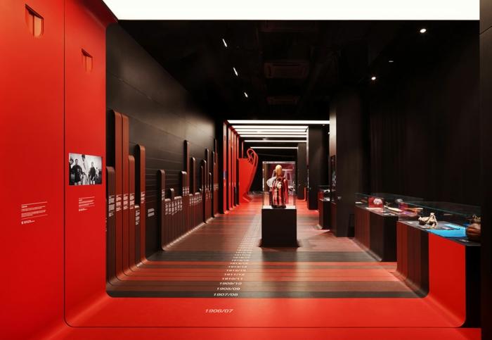 fabio novembre architektur und design fußbal museum casa milan