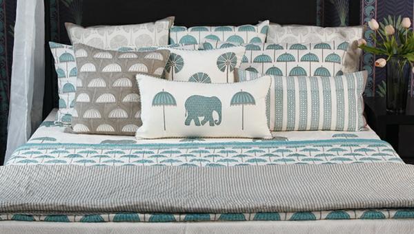 einrichtungsideen indischen stil schlafzimmer frische farben