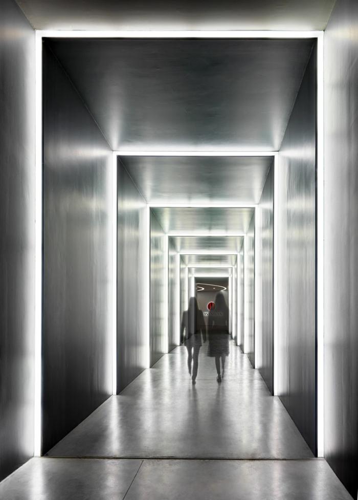 fußbal museum casa milan flur fabio novembre moderne architekten