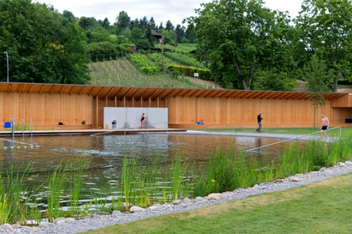 Garten pool ohne chlor naturbad riehen for Gartenpool ohne chlor