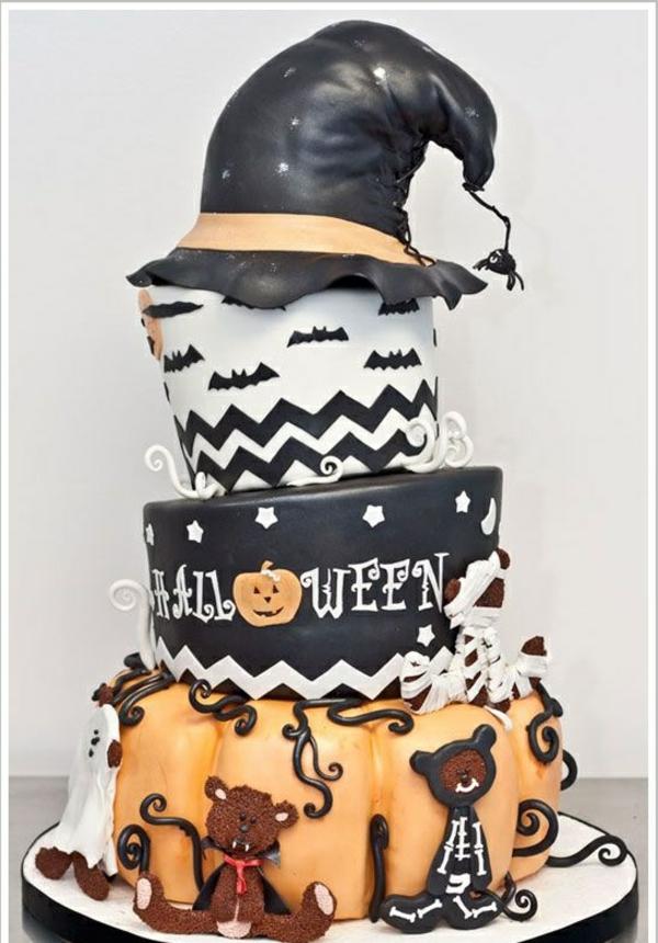 halloween essen gebäck torte kuchen gruselig wald