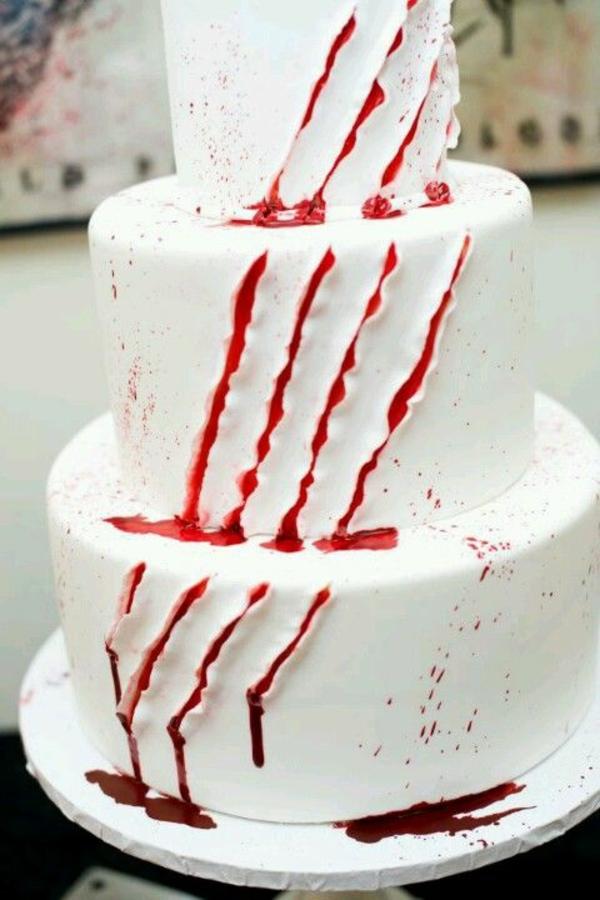 halloween essen gebäck torte kuchen kratzen