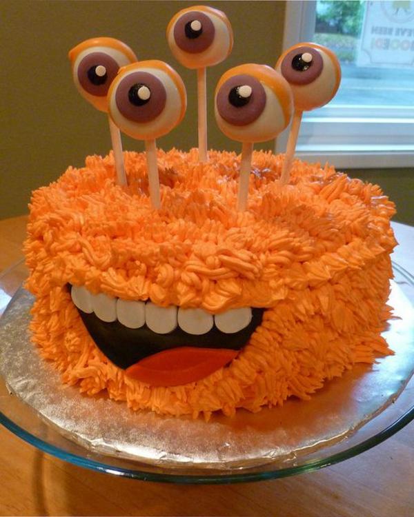 halloween essen gebäck torte kuchen viele augen