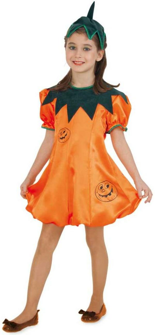 halloween kostüme kinder kürbis