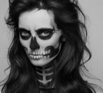 Halloween Schminke – als Zombie auf der Halloween Party
