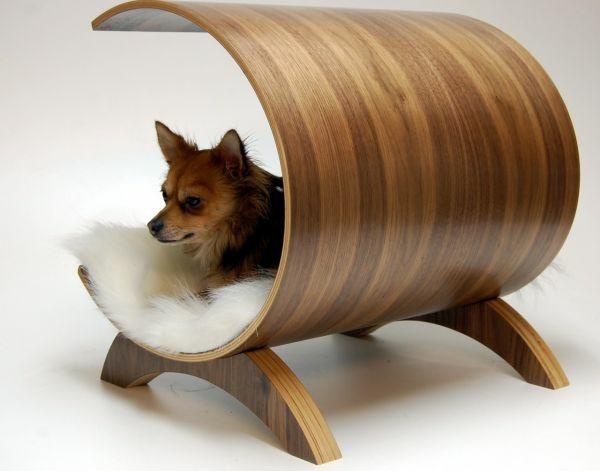 haustier Katzenmöbel und Kratzbäume liegen hunde glatt lackiert