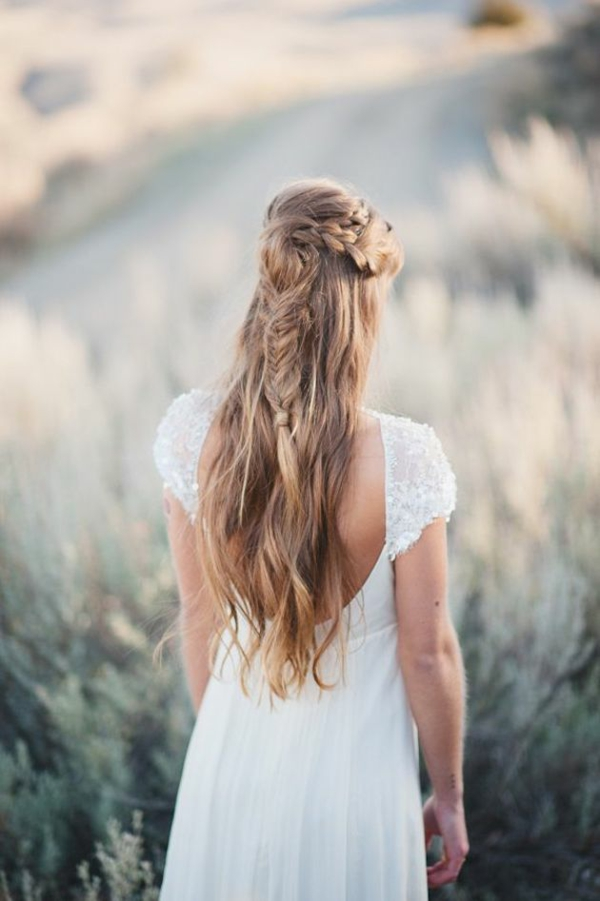 Frisuren Hochzeit Selber Machen Dirndl Frisur Krone Step With