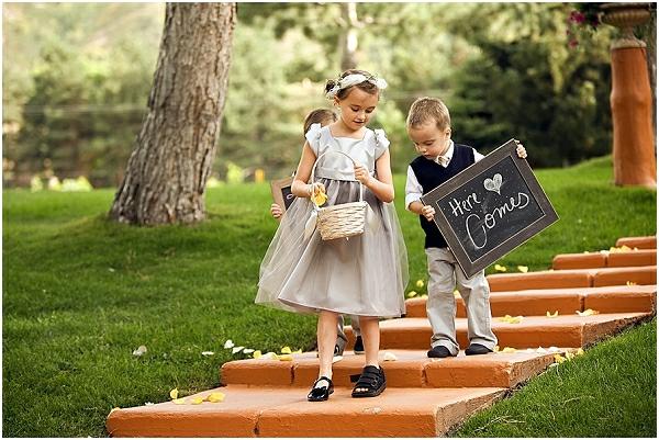 Romantische Hochzeitsfeier ideen trauung im freien trittstufen