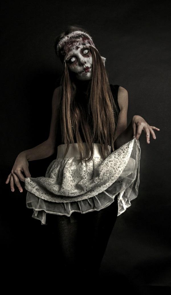 horror halloween kostüme schrecklich puppe
