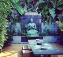 Zen Garten anlegen – die Hauptelemente des japanischen Gartens