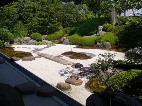 Zen garten anlegen die hauptelemente des japanischen gartens for Japanischer garten pflanzen