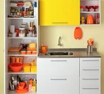 Küchengestaltung Ideen – Küchenschränke richtig organisieren