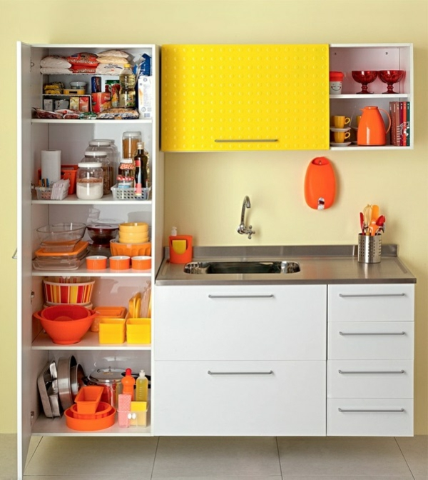 küchengestaltung ideen küchenschränke ordnen küchenfronten austauschen