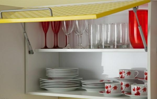 küchengestaltung ideen küchenschränke ordnen küchenfronten