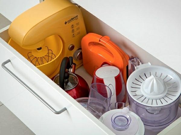 küchengestaltung ideen küchenschränke organisieren unterschrank