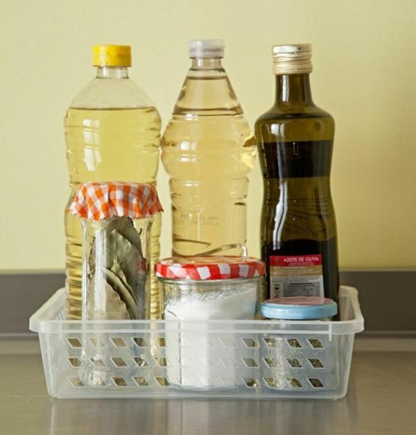 küchenideen gestaltung ideen küchenschränke ordnen gewürz schachtel