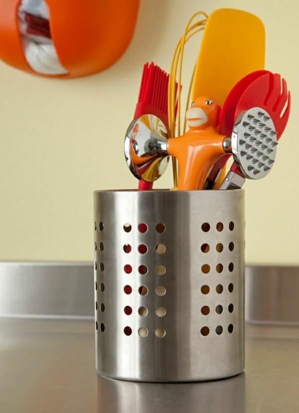 küchenideen gestaltung küchenschränke ordnen
