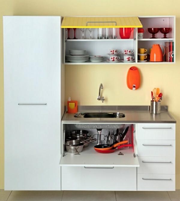 küchenideen ordnung schaffen küchenschränke ordnen küchenfronten