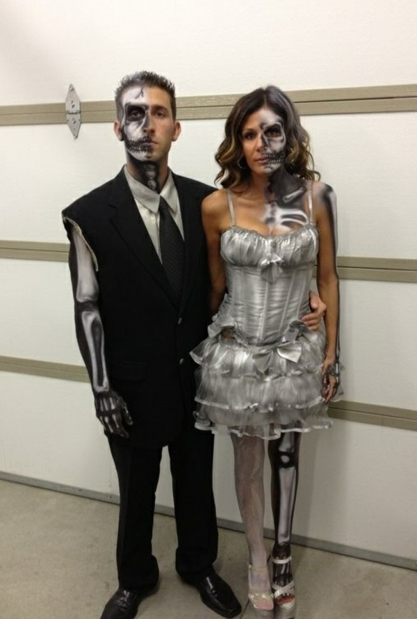 karnevalskostüme halloween verkleidung paare