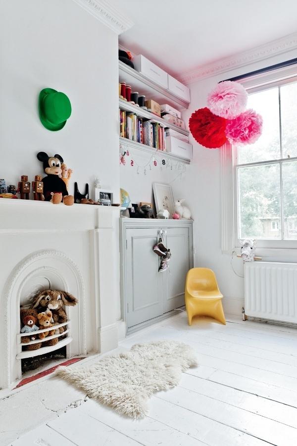 Kinderzimmer Einrichten Farbige Wohnideen Spielraum Gestalten