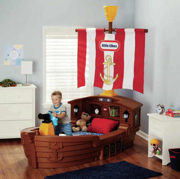 Kinderzimmer für jungs  Kinderzimmer für Jungs - farbige Einrichtungsideen