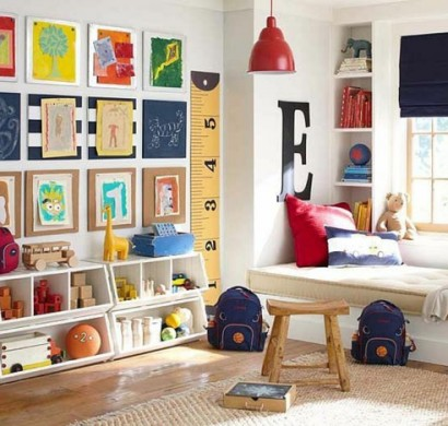 kinderzimmer f r jungs farbige einrichtungsideen. Black Bedroom Furniture Sets. Home Design Ideas