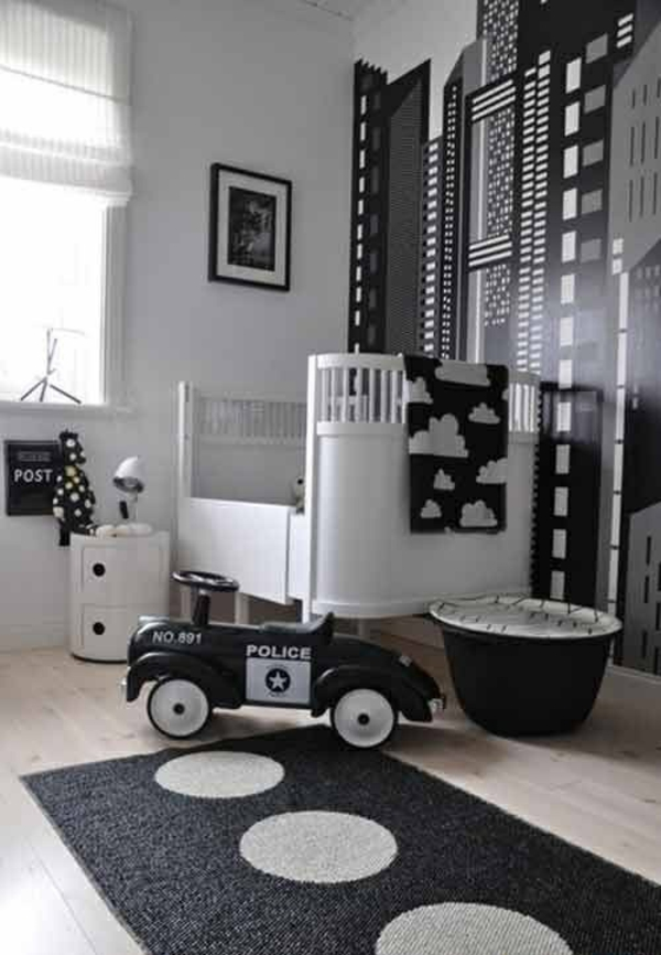 kinderzimmer f r jungs farbige einrichtungsideen. Black Bedroom Furniture Sets. Home Design Ideas