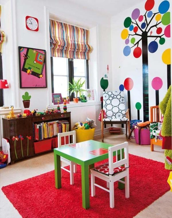Wandgestaltung Kinderzimmer Diy : kinderzimmer gestalten spielraum wandgestaltung wandsticker kunte