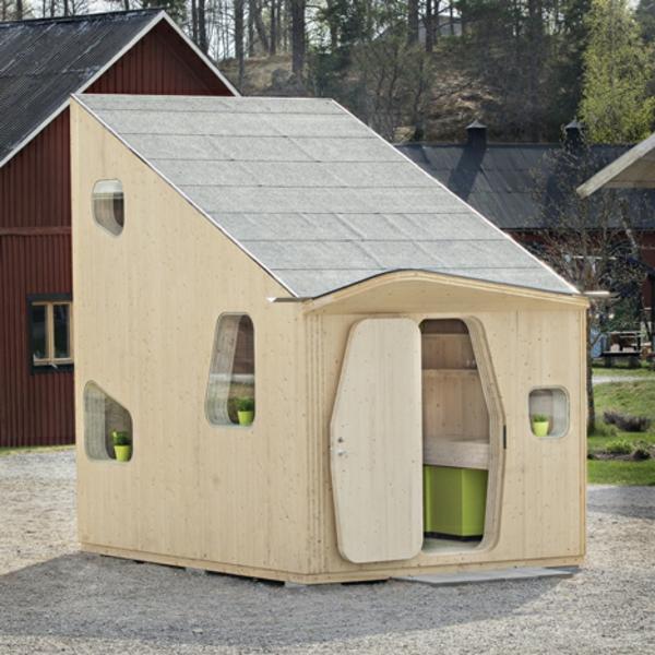 kleines holzhaus Studentenhaus Unit Tengbom