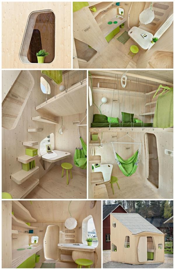 kleines holzhaus studentenwohnung tengbom architekts